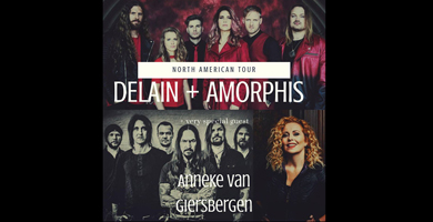 More Info for Delain & Amorphis