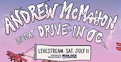 More Info for Andrew McMahon July 11 Livestream
