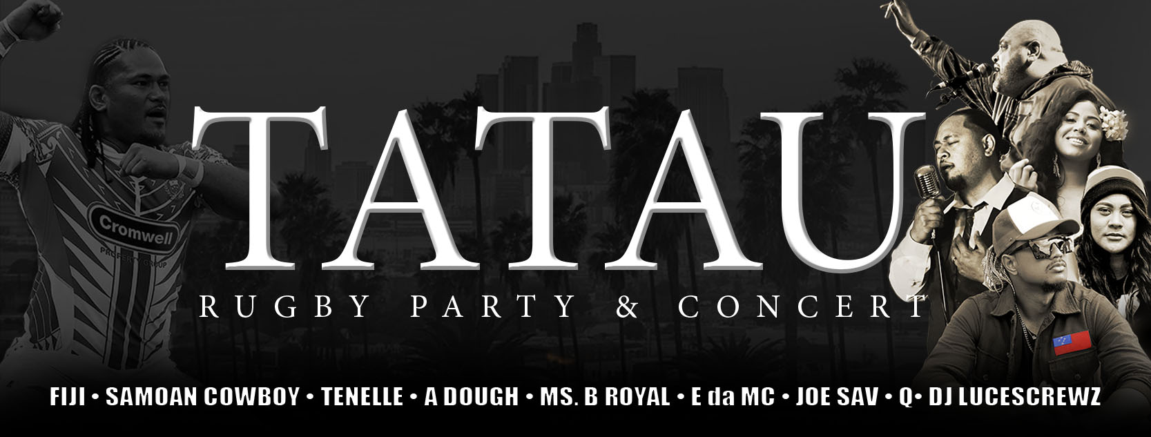 Tatau Rugby Party & Concert