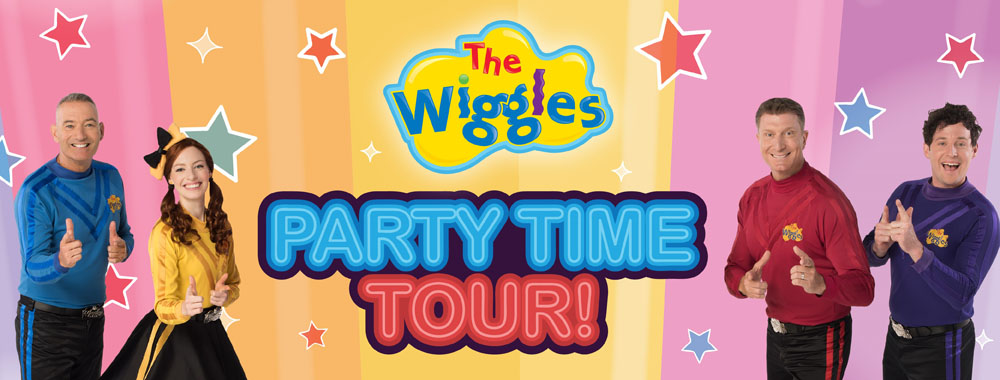 The Wiggles - Party Time Tour!